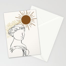 The Sun Of Rome Stationery Cards