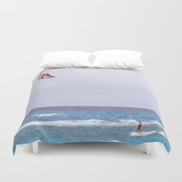 kite surfin' Duvet Cover