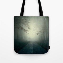 Foggy Stories Tote Bag