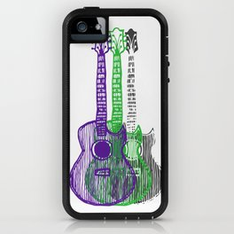 Guitars Two iPhone Case