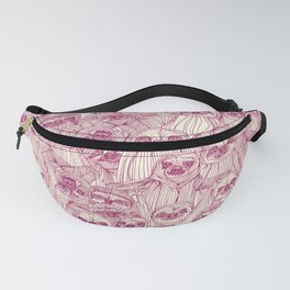 just sloths cherry pearl Fanny Pack