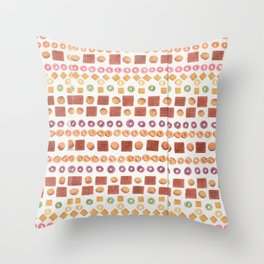 Cereal Surreal Poster Print Throw Pillow
