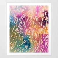 sparkle Art Prints featuring Sparkle by zeze