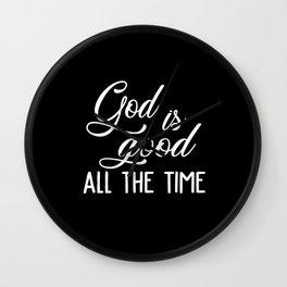 Jesus Jesus Cross Jesus Slippers Church Religion Wall Clock