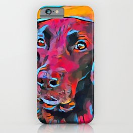 Labrador Retriever 8 iPhone Case