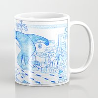 killer whale Mugs featuring Killer Whale by Tayfun Sezer