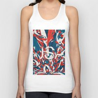 usa Tank Tops featuring USA by Danny Ivan