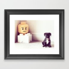 Francine Framed Art Print