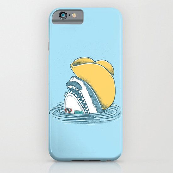 Funny Hat Shark iPhone & iPod Case