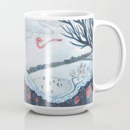 White Winter Hymnal Mug
