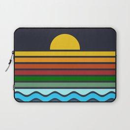 Geometric Rainbow Nature Laptop Sleeve