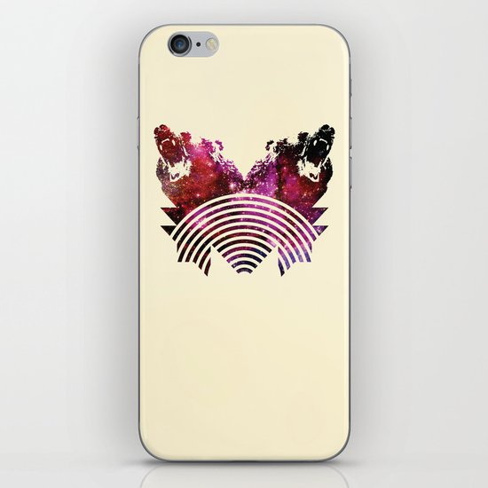 Its A Grizzly Space Out There iPhone & iPod Skin