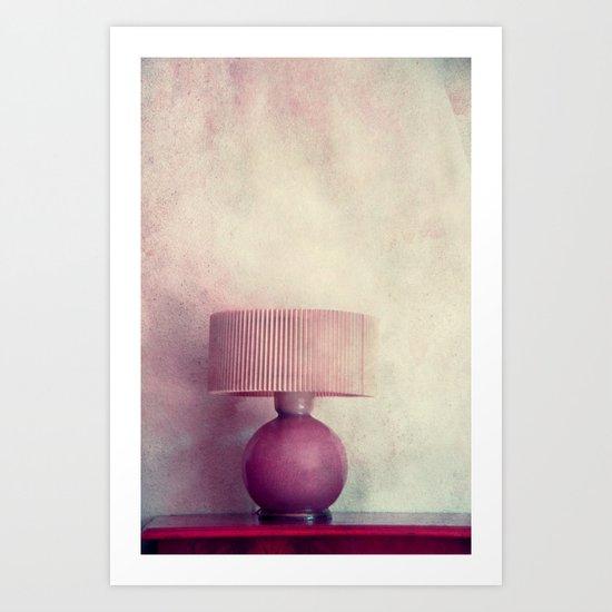 lámpada Art Print