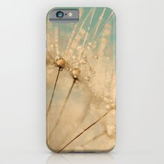 dandelion gold and mint Slim Case iPhone 6