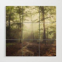 german rain forest Wood Wall Art