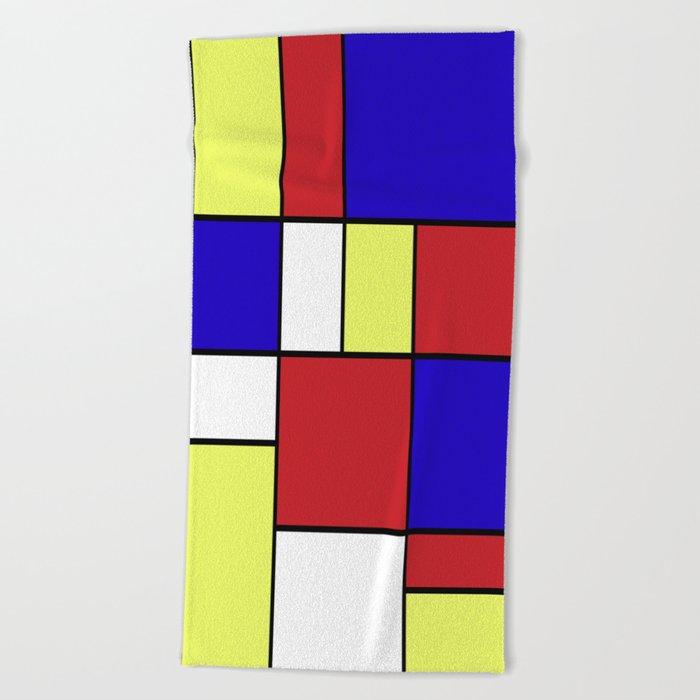 Abstract #406 Beach Towel