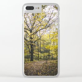 Autumn Colors, I Clear iPhone Case