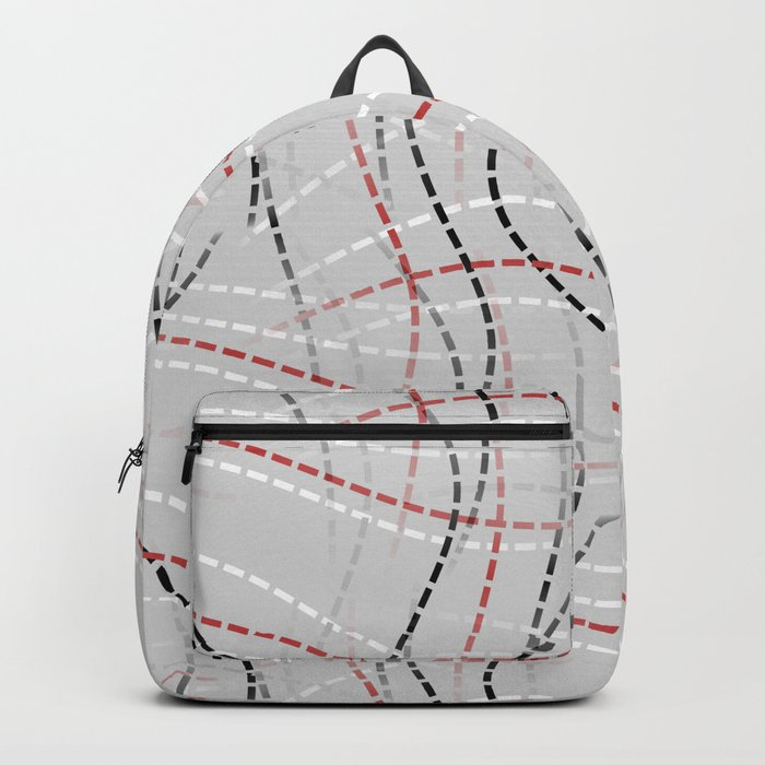 Stitches Abstract Backpack