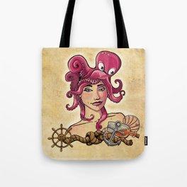 Octopus Hair Tote Bag
