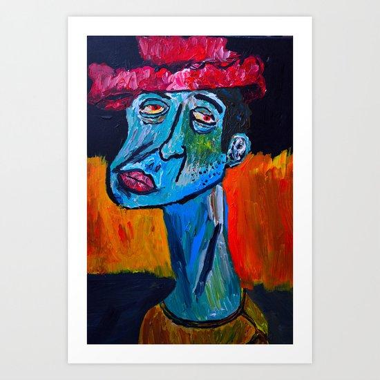 Fool on a Hill  Art Print