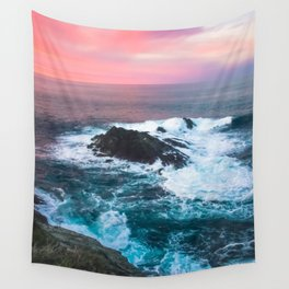 Sunset on the Bay of Biscay Wall Tapestry