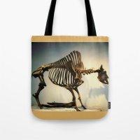 buffalo Tote Bags featuring Buffalo by Mandy Chesnut