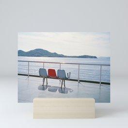 On the Setouchi Ferry Mini Art Print