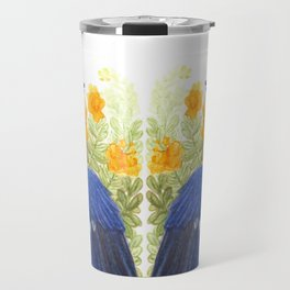 Blue Jay in the Cassia Thicket Travel Mug
