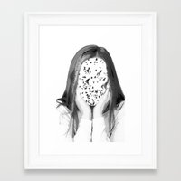 dreamer Framed Art Prints featuring Dreamer by infloence