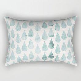 Drop water pattern Rectangular Pillow