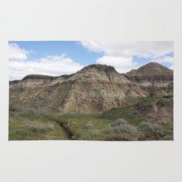 Horseshoe Canyon 3 Drumheller Badlands Rug