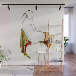 'Striped Stockings' Wall Mural