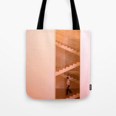 Day at the museum - stairs Tote Bag