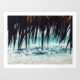 Cuba love Art Print