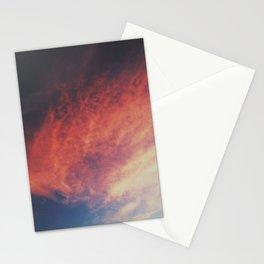 devilish skies Stationery Cards