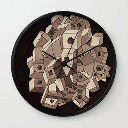 Cube system Wall Clock