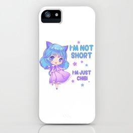 Anime Funny I'm Not Short Chibi Otaku Kawaii Gift iPhone Case