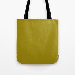 Dark Yellow - solid color Tote Bag
