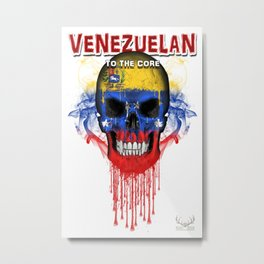 To The Core Collection: Venezuela Metal Print