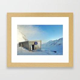 Top of Europe  Framed Art Print
