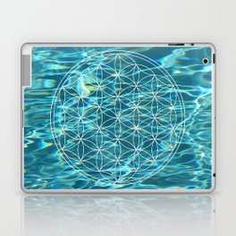 Flower of life in the water Laptop & iPad Skin