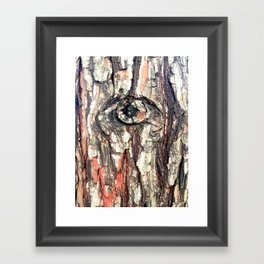 The Trees Are Watching Framed Art Print