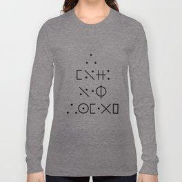 I love Oak Island Cypher Long Sleeve T-shirt