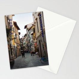 Via Faenza - Florence, Italy Stationery Cards