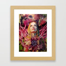 In the Valley of Efflorescent Dust Framed Art Print