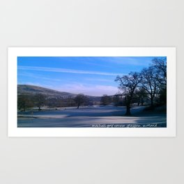 a touch of frost Art Print