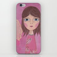 courage iPhone & iPod Skins featuring Courage by ArtByBeata