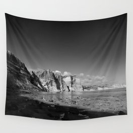 Seeing time Wall Tapestry