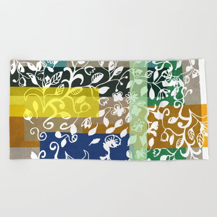Unconventional lace Beach Towel