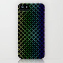Rainbow Squarity iPhone Case